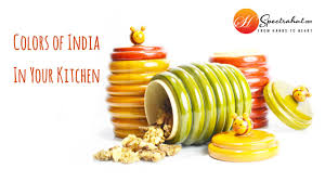 Yellow Kitchen Canisters by Kitchen Containers Dry Fruit Box Channapatna And Etikoppaka Art