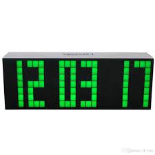 wall mounted digital alarm clock best big large wall clock to buy buy new big large wall clock