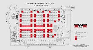 Security Floor Plan Floor Plan Security World Show