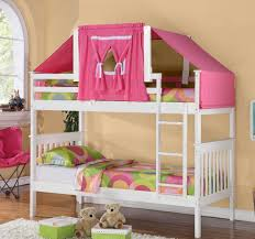 pink room wall idea feat modern kids full size bed tent with