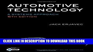 new book automotive technology a systems approach 5th edition