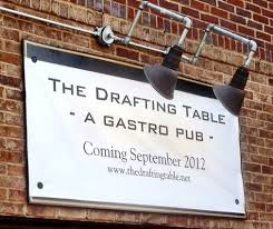 The Drafting Table Dc Drafting Table Menu Drafting Table Opening Thurs Oct 4th In