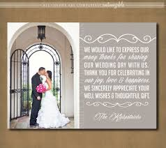 thank you wedding cards wedding thank you card wedding sign engagement thank you bridal
