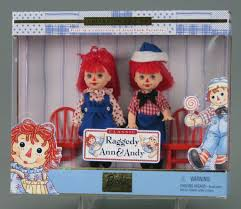 109 15411 classic raggedy ann and andy barbie doll set kelly and