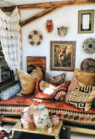 bohemian life eclectic space boho design decor gypsy