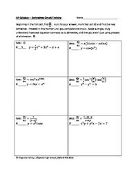 circuit training derivatives calculus calculus in the can