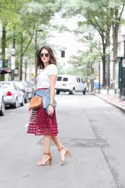 j crew eyelet perforated midi skirt for fall