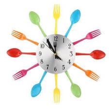 horloge cuisine pas cher horloge cuisine couvert achat vente pas cher