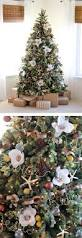 people are decorating christmas trees with flowers as a gorgeous