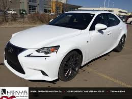 red lexus is 250 2014 ultra white on red 2015 lexus is 250 awd executive demo f sport