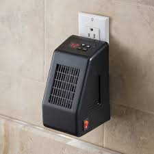 Electric Bathroom Heater by Wall Outlet Mounted Space Heater Craziest Gadgets