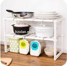 Stackable Kitchen Cabinet Organizer Stackable Kitchen Cabinet And Counter Shelf Organizer Stainless