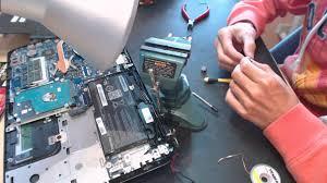 Laptop Repair Technician Toshiba S55 S55t Satellite Laptop Power Jack Repair Pushed In