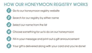 bridal registry for honeymoon honeymoon registry just in honeymoon