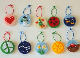 felt ornament crafts for