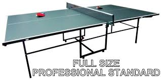 collapsible table tennis table ping pong table size amazing of folding table tennis table green