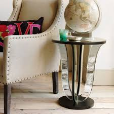 Modern Side Tables For Living Room Furniture Modern Living Room Decoration With Mirrored Side