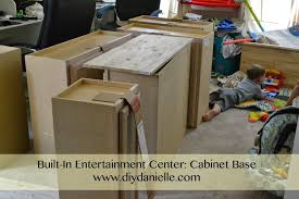 how to build a base for cabinets to sit on how to build a cabinet base for an entertainment center