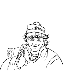 disney frozen character kristoff coloring pages download u0026 print