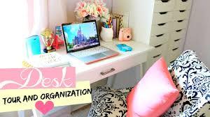 Organizing Desk Drawers by Desk Tour U0026 Organization Belinda Selene Youtube