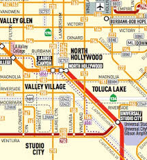 studio city map car free and car lite in la where to live the source