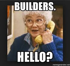 Funny Hello Meme - builders hello golden girls old lady on phone funny meme generator