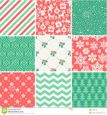 christmas patterns christmas seamless pattern collection stock vector illustration of