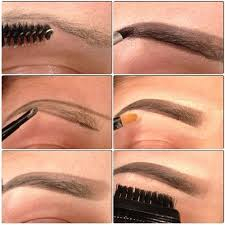 proper way to fill in eyebrows 23 best how to shape and draw your brows images on pinterest