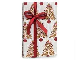thick christmas wrapping paper white snowflake flurry wrap wrapping paper