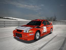 mitsubishi rally car mitsubishi lancer evolution vi rally car 1999 by patemvik on