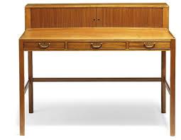 Ladies Secretary Desk A Mahogany Ladies Desk By Jacob Kjaer On Artnet