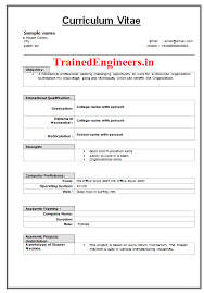 curriculum vitae format for freshers pdf as i embark on my research career i have been disappointed at the