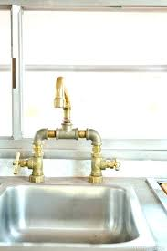 industrial style kitchen faucet brilliant industrial style kitchen faucet fancy sink gold