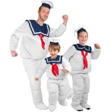 Stay Puft Marshmallow Man Costume Ghostbusters Costumes Funny Movie Costumes Brandsonsale Com
