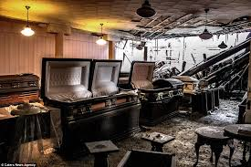 funeral homes jacksonville fl eerie images abandoned funeral home where coffins are still lying