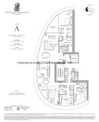Oceana Key Biscayne Floor Plans by Ritz Carlton Residences Sunny Isles Beach Condos And Residences