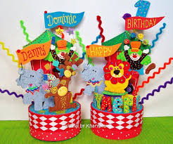 circus cake toppers circus carnival birthday cake topper by kharygoarts cake toppers