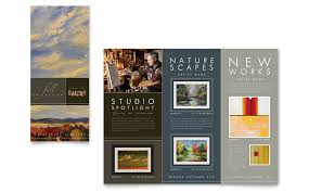tri fold brochure publisher template gallery artist tri fold brochure template word publisher