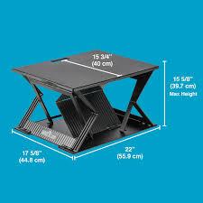 laptop 22 portable standing desk varidesk adjustable desks