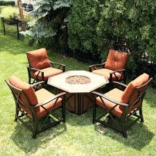 Fire Pit Chairs Lowes - fire pit sets with chairs fire pit table set sams club