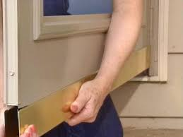 Install Exterior Door Jamb by How To Install A Storm Door From A Kit How Tos Diy