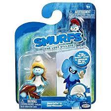 amazon smurfs lost village smurfette u0026 smurf blossom