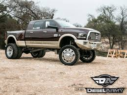 Dodge Ram Cummins 3500 - custom 2013 ram 3500 diesel truck built to stand out diesel army