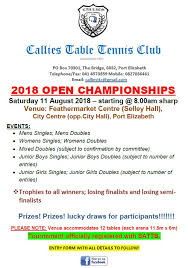 us open table tennis 2018 south african table tennis board latest news