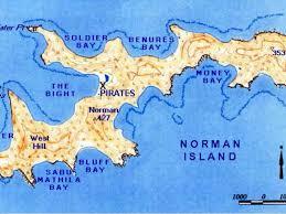 Bvi Map British Virgin Islands By Hannah Dort