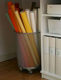 how to store wrapping paper savvy housekeeping 5 creative ways to store wrapping paper