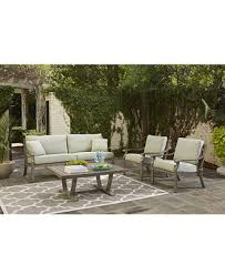 Turquoise Patio Furniture Tara Outdoor Seating Collection Created For Macy U0027s Furniture