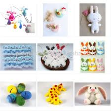 easter decorations on sale 2017 new design hot sale wholesale handmade fabric craft door wall