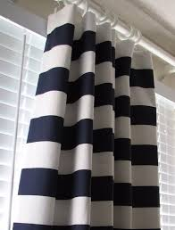 Navy Blue And White Curtains Navy Blue And White Striped Curtains Eulanguages Net