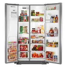 Whirlpool Inch French Door Refrigerator - wrs975sidm whirlpool 36